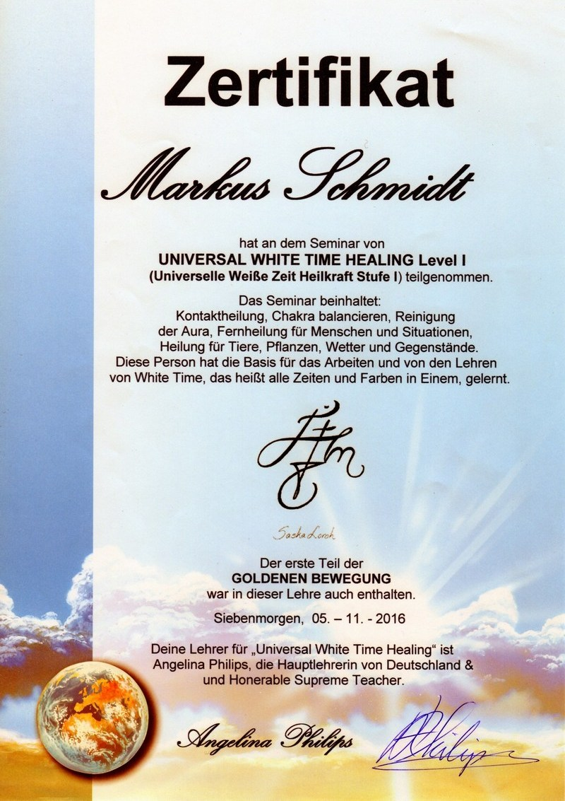 UWTH-L1-Zertifikat